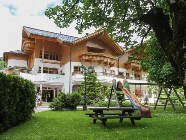 Appartements Dandler in Fieberbrunn im Sommer