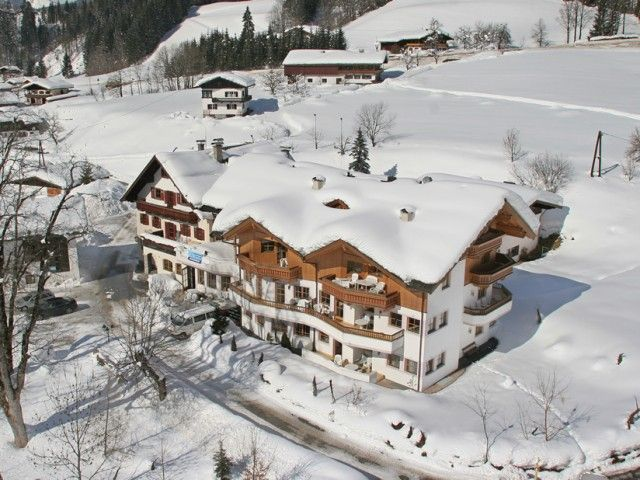 Appartements Dandler in Fieberbrunn im Winter
